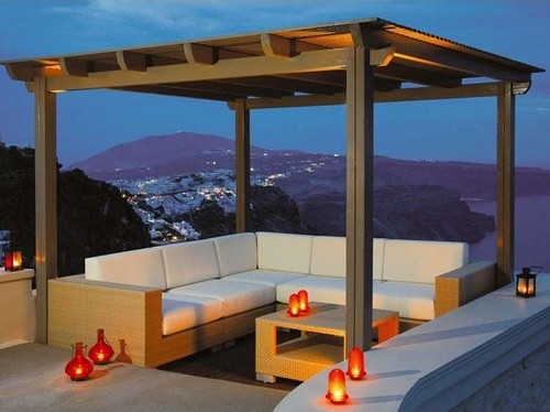 Arizona Sahara Deep Seating Set modern outdoor chairs