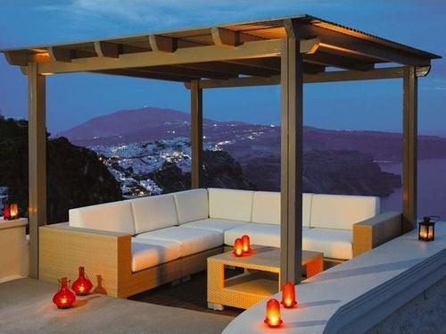 Arizona Sahara Deep Seating Set modern-outdoor-chairs