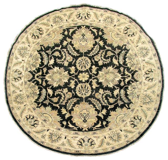 T343 Round Ziegler Rug traditional-carpet-flooring