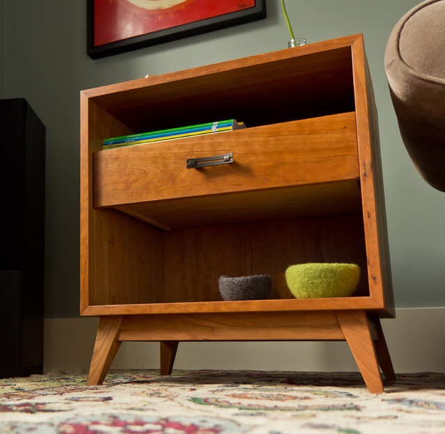 retro side table modern side tables and end tables vancouver. Black Bedroom Furniture Sets. Home Design Ideas