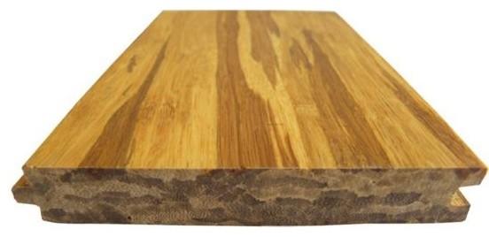 Zebra color strand woven bamboo flooring contemporary for Zebra strand bamboo flooring