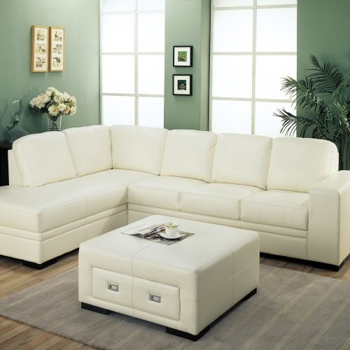Hilaire Leather Sectional with Ottoman contemporary-sectional-sofas