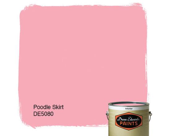 Dunn-Edwards Paints Poodle Skirt DE5080 -