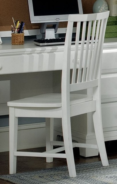 wooden desk chair in snow white armchairs and accent chairs