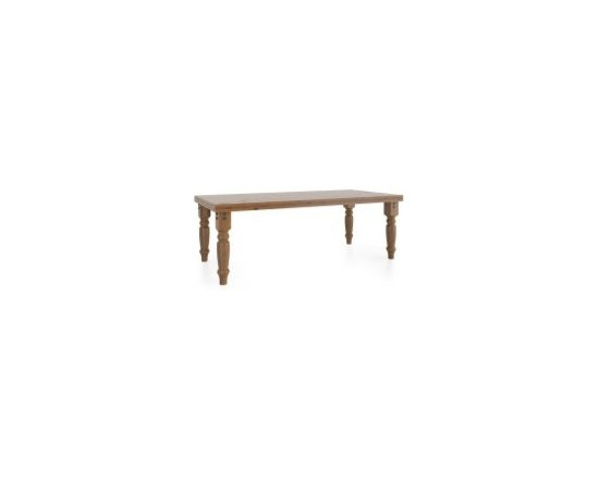 Loft collection individual products - Rectangular table 42x88 with HA leg style