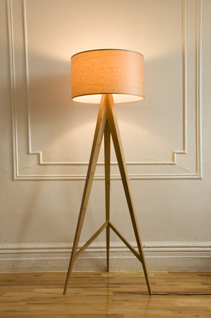 Quindici Metal Bamboo Floor Lamp