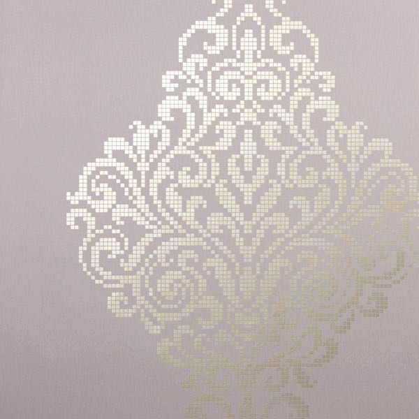lux lavender metallic damask wallpaper bolt contemporary