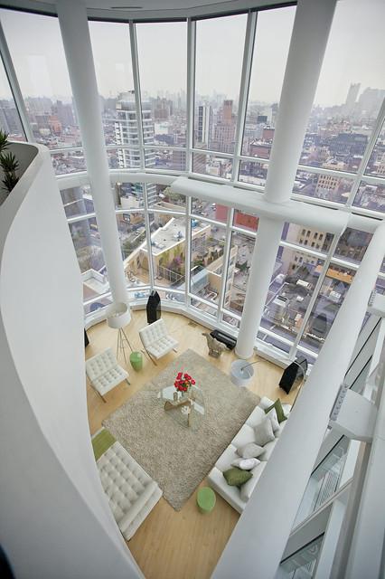 Chelsea Duplex Penthouse modern-living-room
