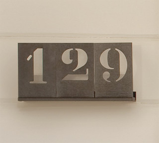 Stencil House Numbers - Modern - House Numbers - by Pottery Barn