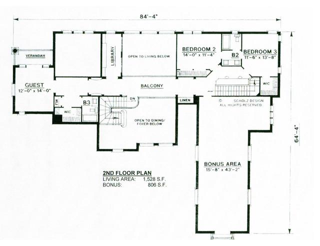 Tuscan Villa floor-plan