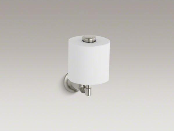 KOHLER Archer(R) vertical toilet tissue holder contemporary-toilet-paper-holders