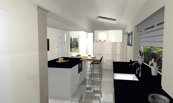 Beautifully simple traditional-kitchen
