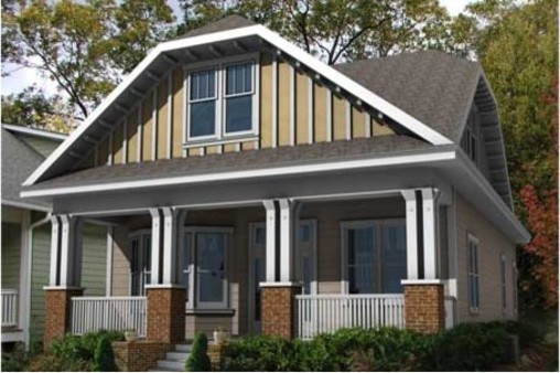 House Plan 461-11 traditional-exterior-elevation