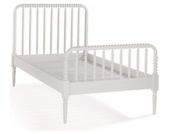 Kids Spindle Jenny Lind Bed | The Land of Nod traditional-kids-beds
