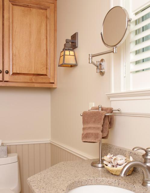 craftsman style bathroom light craftsman bathroom lighting and vanity
