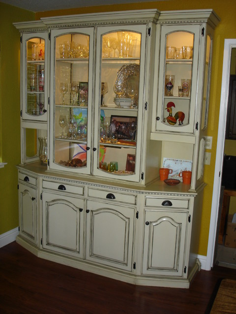 Camper, Refinish Dining Room Cabinets