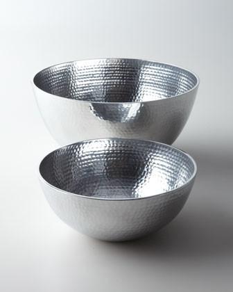 "Towle Medium ""Hammered"" Bowl traditional-dining-bowls"