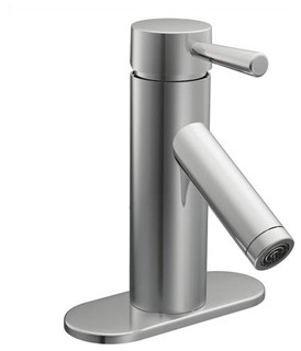 Contemporary Bathroom Faucets on Bathroom Faucet With Single Handle   Modern   Bathroom Faucets   By