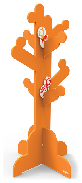 P'kolino Little Ones Clothes Tree, Orange modern-coat-stands-and-umbrella-stands