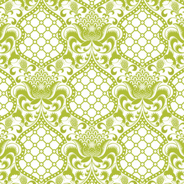 Jonathan Adler Brocade Wallpaper eclectic wallpaper