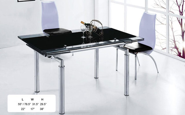 Top Leather Complete Dining Room Sets With Leaf Modern Dining Tables