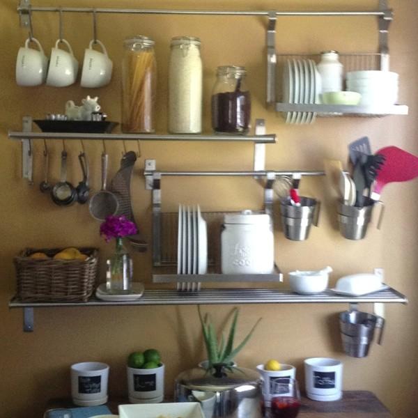 Ikea kitchen shelving modern san francisco - Modern kitchen shelving ...