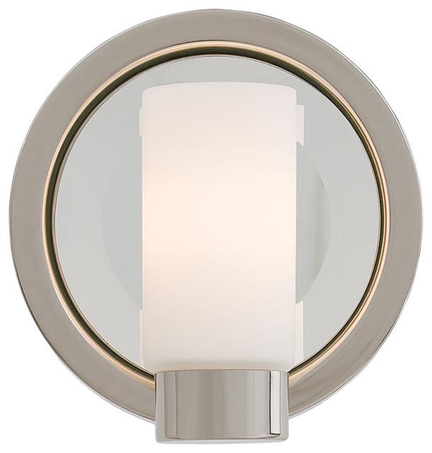 Next Port Vanity Wall Sconce by George Kovacs contemporary-bathroom-vanity-lighting