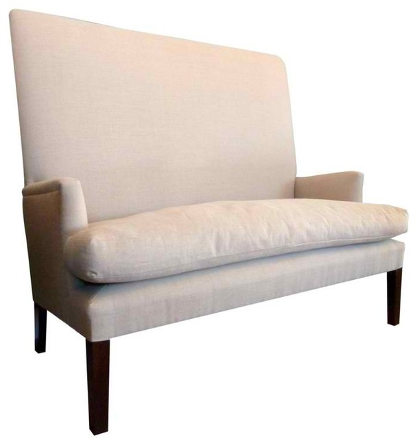 High Back Settee Modern Sofas New York By Second