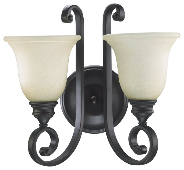 Quorum Lighting Bryant Traditional Wall Sconce X-68-2-4545 traditional-wall-sconces