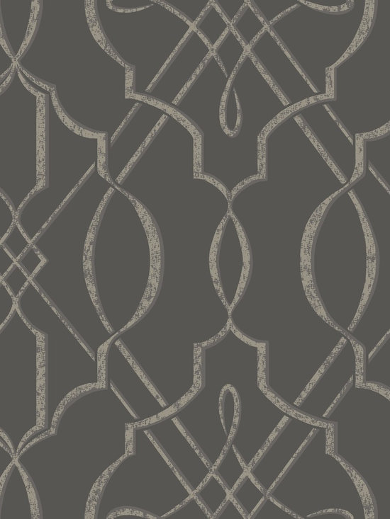 Arabesque - This modern Wall covering pattern is influenced by traditional Arabesque design with contemporary twists. With its neutral color palette, this wallpaper can be matched with almost any pieces of furniture of your home.
