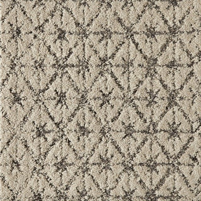 Vintage Vibe Carpet Tile Cream Contemporary Carpet