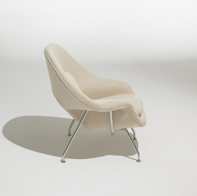 knoll kids - Child's Womb Chair - Grade F Fabric modern-kids-chairs