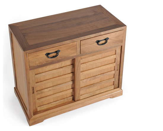 Shinto Cabinet, Small, Natural Walnut -