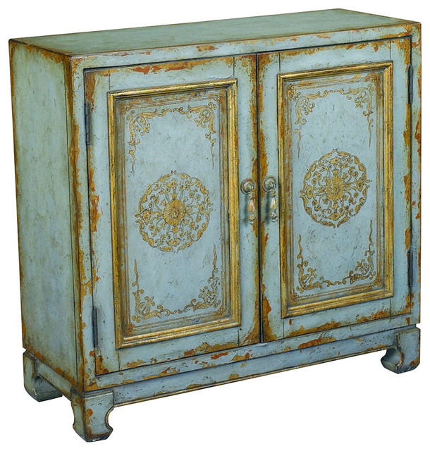 Hammary T73685-00 Hidden Treasures Accent Chest in Distressed