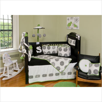 Bebe Chic Moderno Crib Bedding Collection | All Modern Baby modern baby bedding