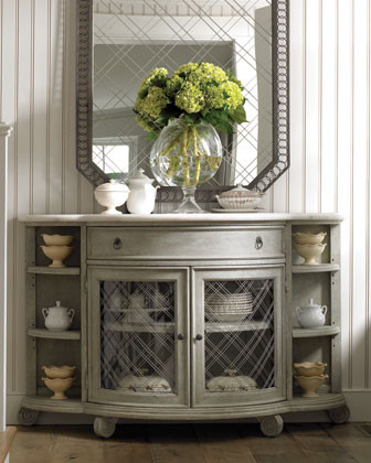 Mercer Demilune Chest traditional-dressers