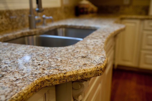 Countertop Beveled Edge : Granite Edge: 1/4