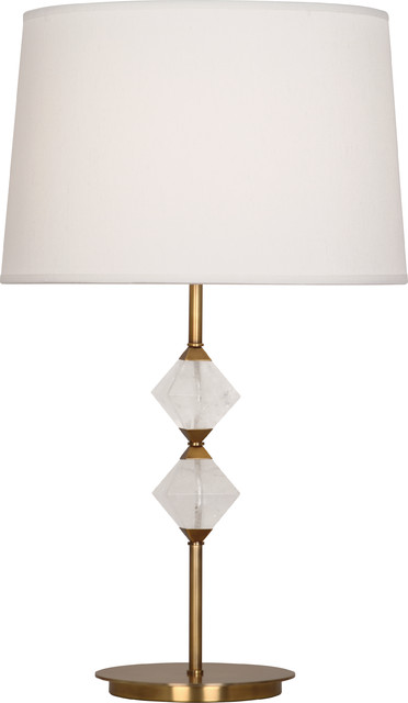 Juliet Table Lamp, Aged Brass contemporary-table-lamps
