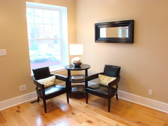 Gut Renovation in Fox Park traditional-living-room