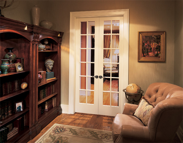 12 lite french doors interior doors sacramento by for Small double french doors