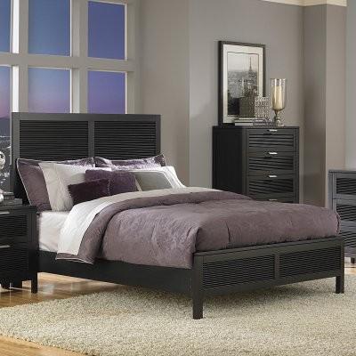 Hudson Low Profile Bed Set modern-beds
