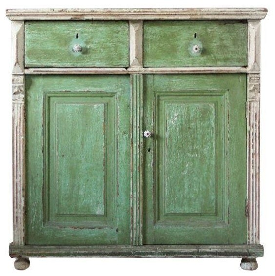 Pre-owned Antique European Cabinet - Eclectic - Storage Cabinets - by Chairish