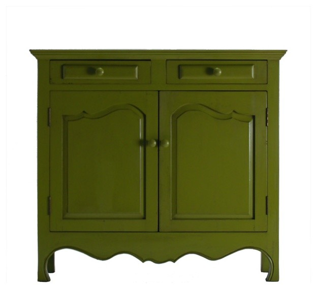 French Two Door Server - Traditional - Buffets And Sideboards - other metro - by houseeclectic.com