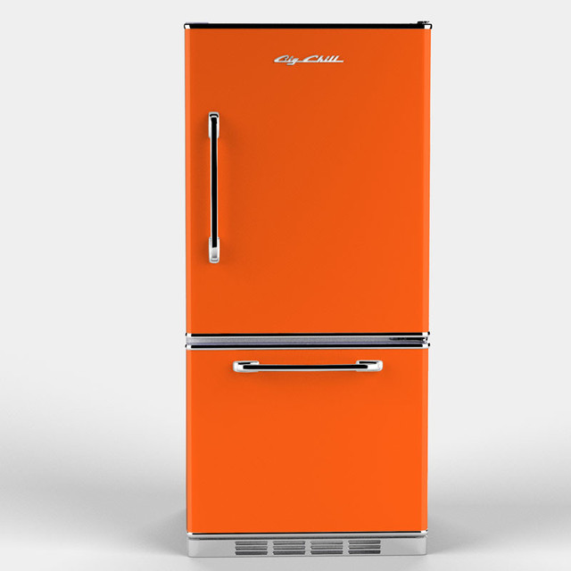 Retropolitan Fridge Orange Eclectic By Big Chill