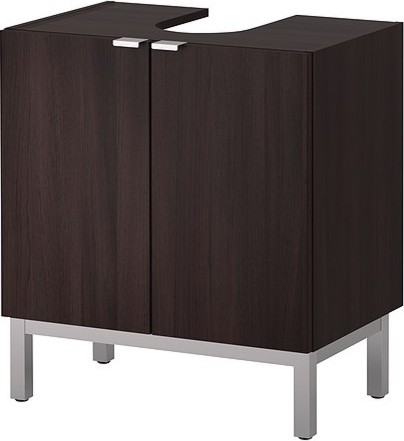 LILLÅNGEN Sink base cabinet with 2 door Scandinavian