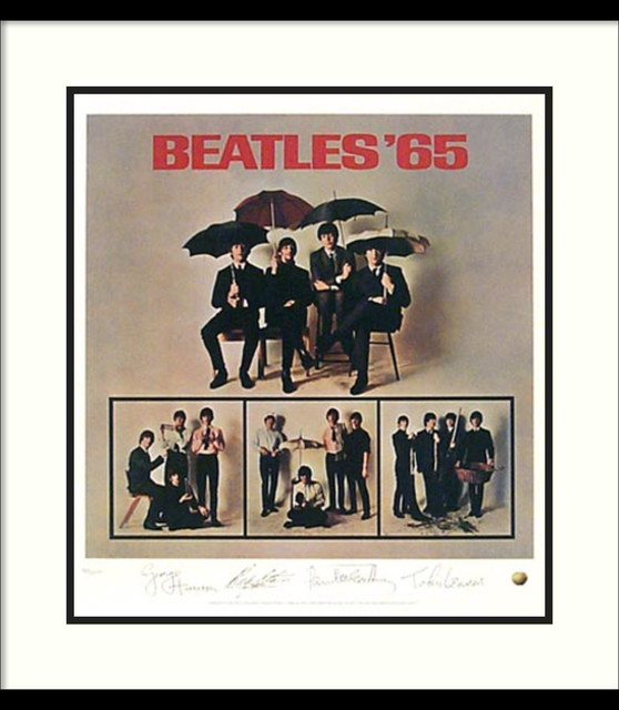 The Beatles: Beatles '65 (Album Cover) Framed Print traditional-prints-and-posters