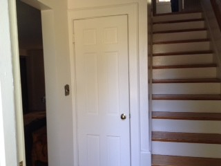 Cape cod style house: cramped front entryway - Houzz