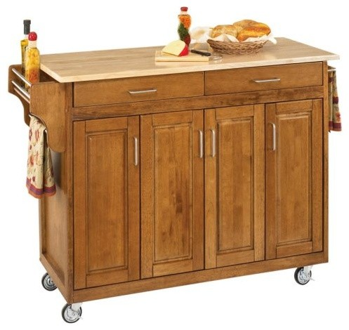 Home Styles Large Create-a-Cart Kitchen Island contemporary-kitchen-islands-and-kitchen-carts