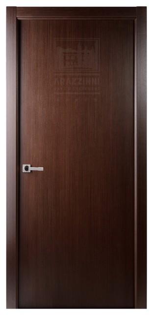 Classica ultra 8 ft interior door wenge 30x80 modern for Interior 8 foot doors