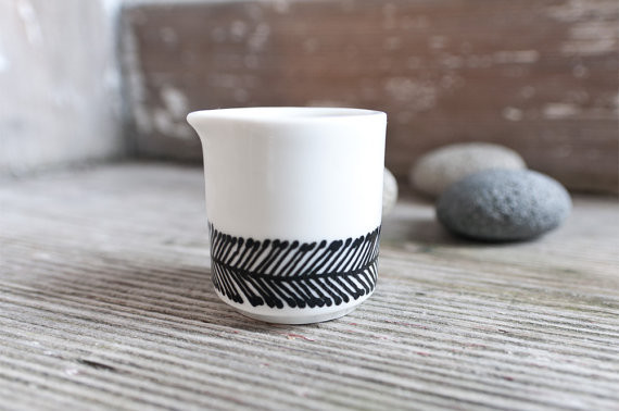 Contemporary Sugar Bowls And Creamers by Etsy